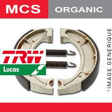 Mâchoires de frein Arrière TRW Lucas MCS 800 pour SYM 50 Mask, LC (BF05W) 2000-