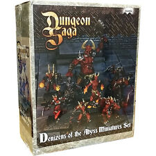 Dungeon Saga, Denizens of the Abyss Miniatures Set, Expansion Kit, New