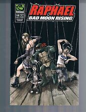 TMNT Raphael: Bad Moon Rising mini #4 Mirage 2007 1st Print Ross Campbell Cover