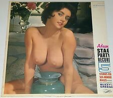 BUZZY GREENE STAG LP CHEESECAKE NUDE MODEL COVER ART Vintage Photo PINUP poster