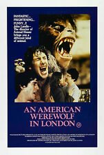 An American Werewolf In London - A4 Laminated Mini Poster