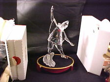 SWAROVSKI CRYSTAL 1999 MASQUERADE PIERROT incls. STAND &  PLAQUE, 3 ORIG BOXES