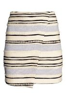 H&M Wraparound Skirt, Beige, UK 10