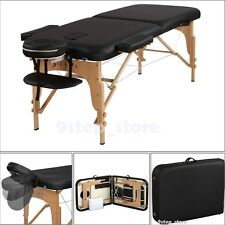 Portable Massage Table Spa Bed Health Physical Therapy Beauty Care Handle Bag