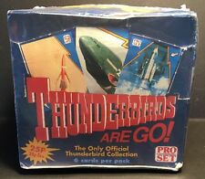 1992 pro set-thunderbirds are go-trading cards uk question full box of 66 packs