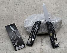 Black Hawk Helicopter Army Tactical Rescue Spring Assisted Folding Pocket Knife