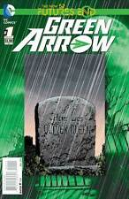 FUTURES END NEW 52 GREEN ARROW #1 3D LENTICULAR COVER NEW NEAR MINT
