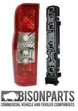 REAR LAMP LIGHT LENS & HOLDER LEFT SIDE - FORD TRANSIT PANEL VAN mk7 2006-2013