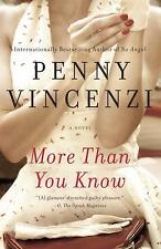 More Than You Know Penny Vincenzi Brand New HB (Inv. LVR sh 1 left 101)