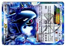POKEMON BW8 BLACK & WHITE PLASMA STORM HOLO N° 108/135 LUGIA EX 180 HP Attack120