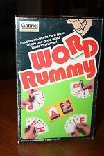 Word Rummy - The Play on Words Card Game Where One Good Word Lead to Another!