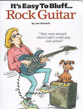 It's Easy to Fake... Rock Guitar (It's Easy to Bluff)-ExLibrary