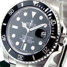 ROLEX 116610 SUBMARINER BLACK CERAMIC BEZEL STAINLESS STEEL