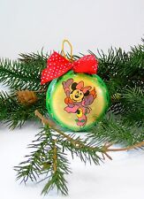 Disney Christmas Ornament with Minnie Mouse Skating Vintage 1996