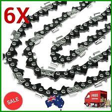 "6X CHAINSAW CHAIN SEMI CHISEL 3/8 058 68DL for Husqvarna 18"" Bar Husky Saw Chain"