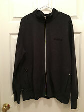 Nike Lebron James King Crown Men's Dri-Fit Gray Full Zip Warmup Jacket XL