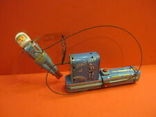ALL ORIGINAL ALPS MAN IN SPACE BATTERY OPERATED , WORKING 1958 MADE IN JAPAN