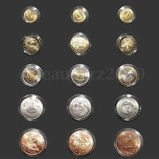 10pcs 18mm-40mm Coin Capsules Clear Crafts Containers Storage Case Boxes Holders