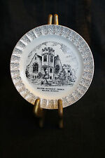 World Wide Art Studio 23Kt Gold Malden Methodist Church Missouri Collector Plate