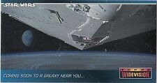 STAR WARS 1994 TOPPS WIDEVISION SWP4 PROMO CARD