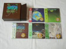 Yes JAPAN 5 titles Mini LP SHM-CD SS + PROMO Yessongs BOX SET