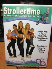 Stroller time workout CD/DVD set complete workout Tara Smith Pre-owned
