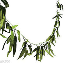 45 FT Bamboo Leaf Garland Luau Wedding Jungle Tropical Safari Theme Vine Decor