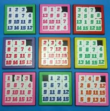 Brain Teaser Fun Math Puzzle Number Slide Game Sliding 15 Numbers Toy Kids 1 P