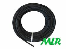 5MM BLACK POLYESTER BRAIDED RUBBER VACUUM / BOOST HOSE PIPE MLR.BCA