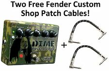 New MXR DD11 Dime Distortion Guitar Effects Pedal! Free Fender Patches!