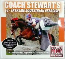 COACH STEWART'S E3 - EXTREME EQUESTRIAN EXERCISES Complete Program 2 DVD  NEW