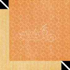 Graphic45 GRAND ILLUSION 12x12 Dbl-Sided Scrapbooking (2pc) Paper