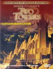 INSIDE TOLKIEN'S Lord of the Rings TWO TOWERS - Middle Earth SECRETS DVD NEW