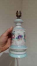 LAMPE STYLE LAMPE A PETROLE NAPOLEON III PORCELAINE VIEUX PARIS ANCIEN VINTAGE