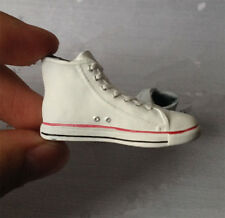Custom 1/6 scale classic Men male Convers All Star  white Shoes Sneakers Boots