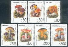 Yemen Republic 1991 ** Mi.37/43 Pilze Fungi Mushrooms