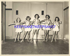 YOUNG GIRLS DANCERS DANCING PERFORMANCE POSING 8 X 10 PHOTO M-DANCERSb