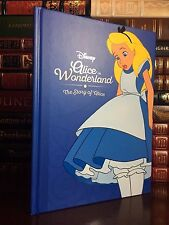 Disney The Story of Alice in Wonderland New Large Illustrated Gift Hardback