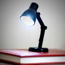 MICRO LAMPADA LED LETTURA 10cm x 4cm x 4cm BATTERIE INCLUSE COLORE BIANCO