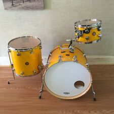 2015 DW Jazz Series Drum Set - Twisted Yellow - 22 12 16 Maple/Gum MINT