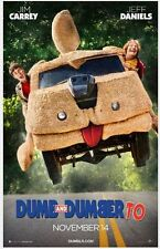 DUMB AND DUMBER TO - 2014 - orig 2-Sided 27x40 ADVANCE Movie Poster - JIM CARREY