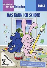 DVD * DIE SENDUNG MIT DEM ELEFANTEN DVD 3 - DAS KANN ICH SCHON! # NEU OVP §