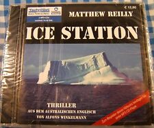 Ice Station German Language Audio Book Matthew Reilly Hoerbuch Thriller NEW