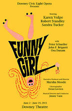 Funny Girl Movie Poster Version F 14x20 inches