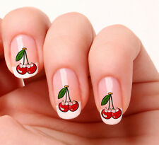 20 Nail Art Stickers Transfers Decals #557 - Cute Cherries peel & stick