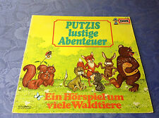 PUTZIS LUSTIGE ABENTEUER (LP) EIN HÖRSPIEL UM VIELE WALDTIERE [VINYL EUROPA 252]