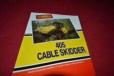 Franklin 405 Cable Skidder Dealer's Brochure YABE8