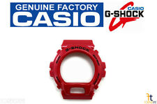 CASIO DW-6900MF-4V G-Shock Original Red Metallic (Glossy) BEZEL Case Shell