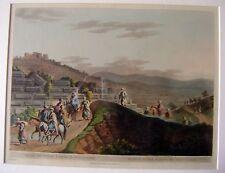 ENGRAVINGS PALESTINE/HOLY LAND RUINS BETWEEN RAMAH & JERUSALEM LUIGI MEYER 1803
