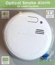 New Fire Smoke Heat Detector Alarm Home Office Safety Security System 9v Battery